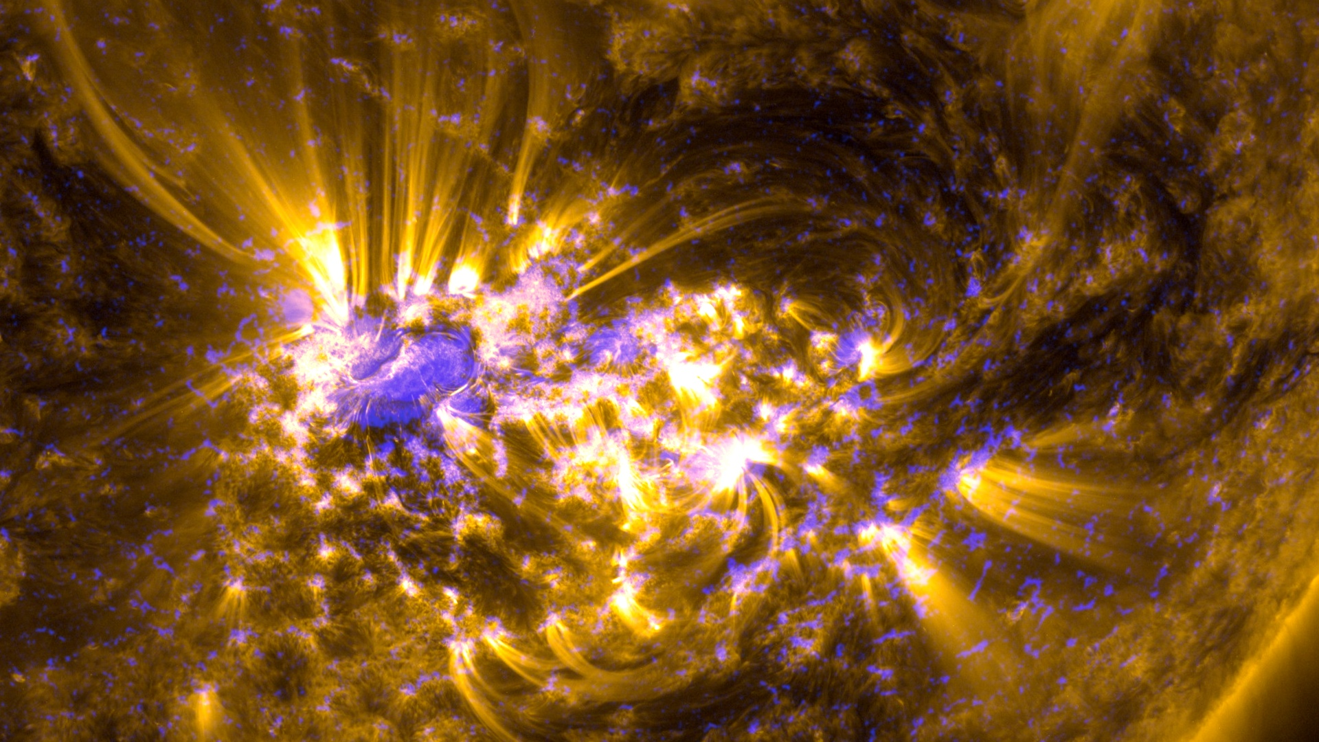 Cme arrival results in aurora show nasa for Space blast 3d
