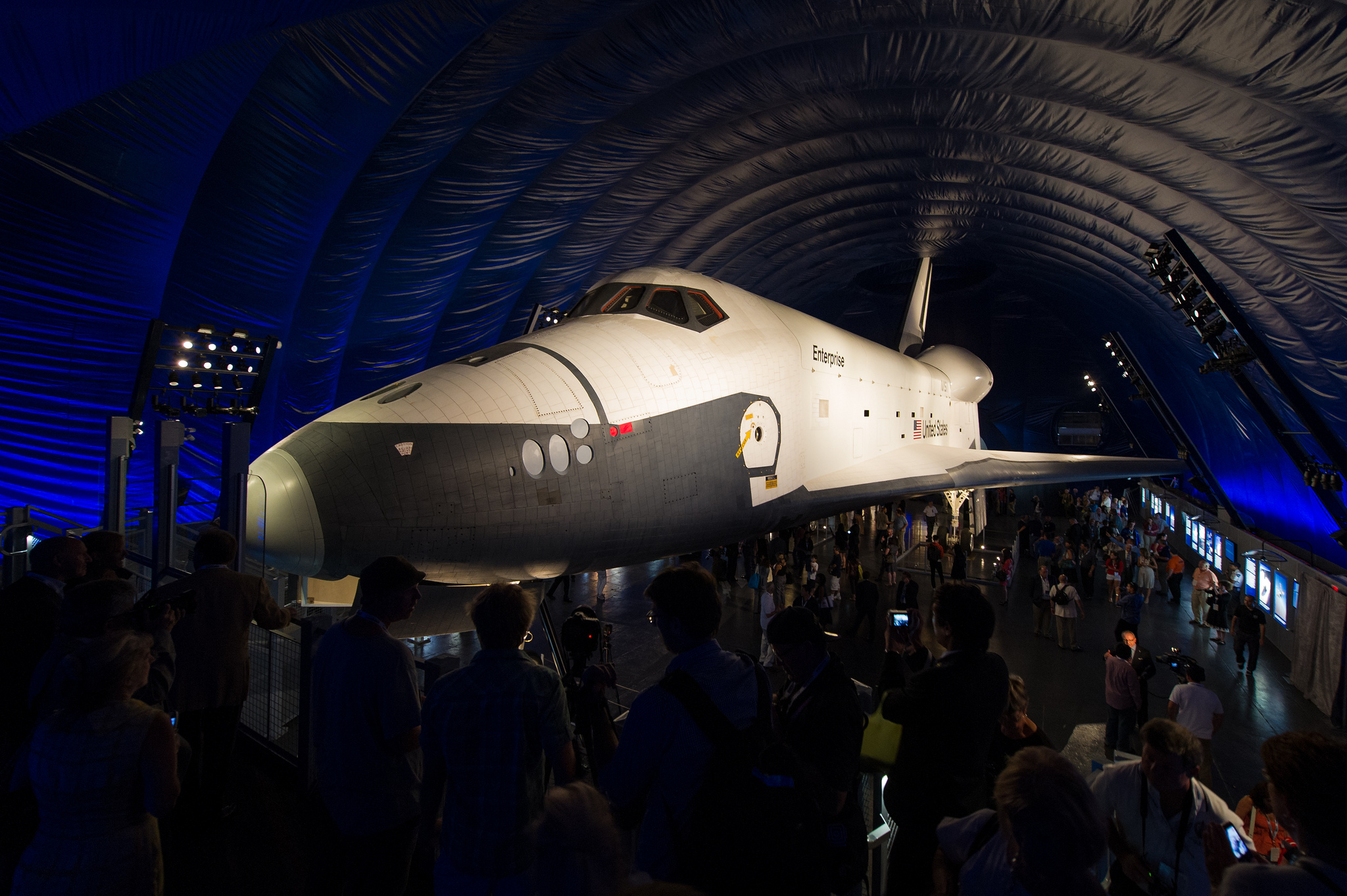 NASA Transfers Enterprise Title To Intrepid Museum NASA - Nasa museums in usa