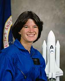 Sally Ride's official NASA portrait when she was selected to become an astronaut in 1978.