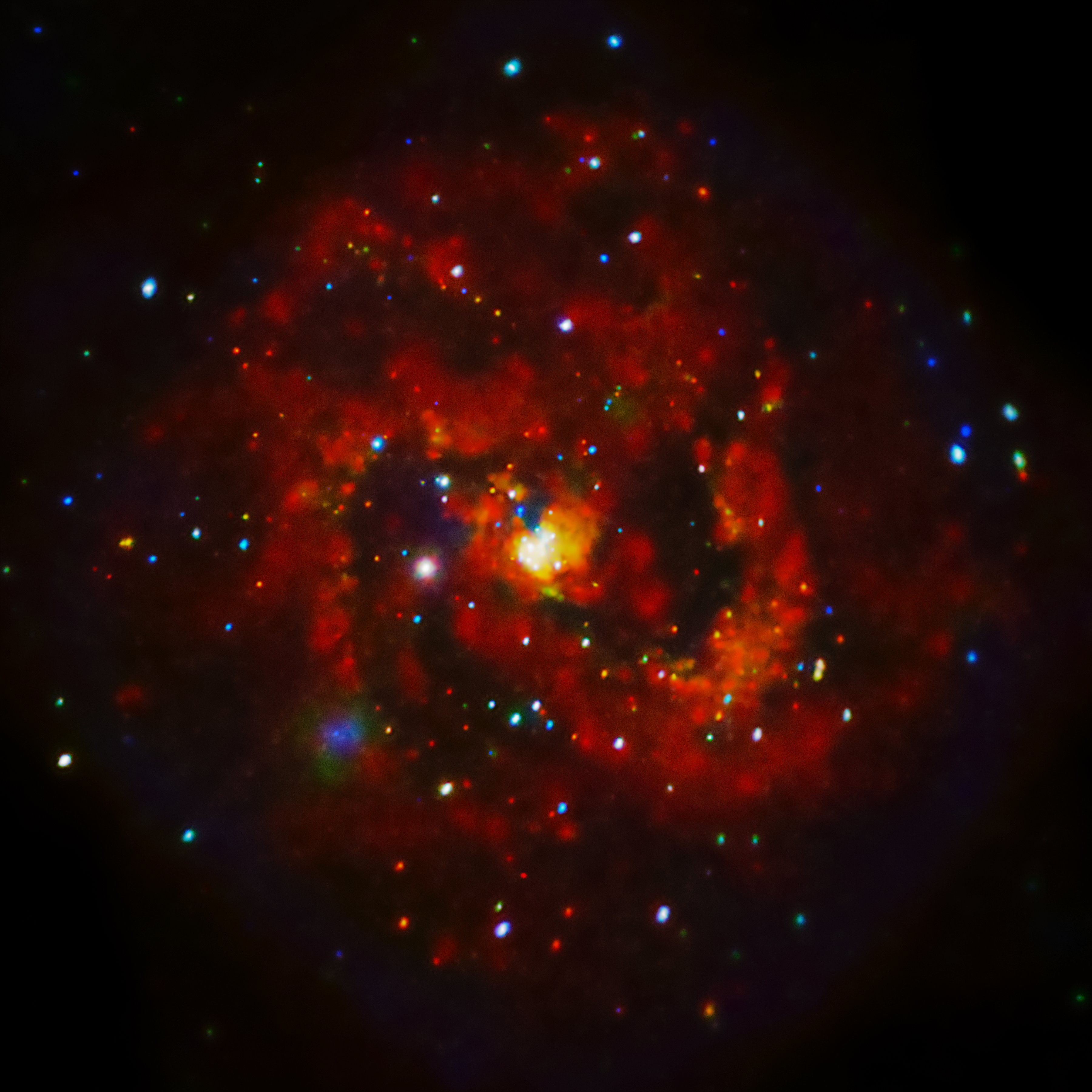 X-rays From A Young Supernova Remnant | NASA