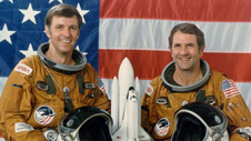 Astronauts Joe Engle and Dick Truly teamed up again to fly space shuttle Columbia on the second orbital shuttle mission in November 1981.