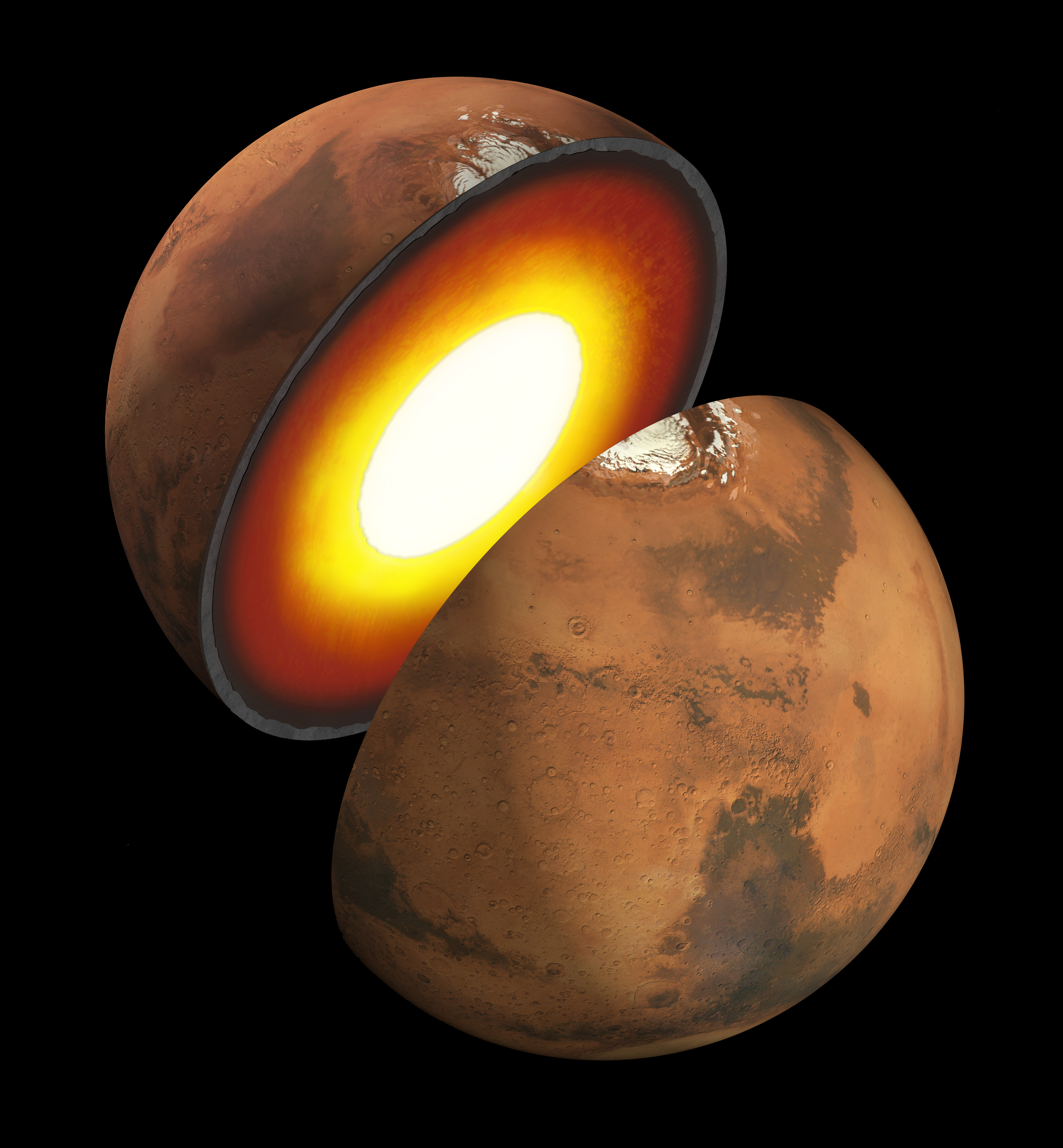 Mars Interior   NASA