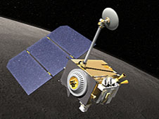 Artist's concept of LRO in orbit