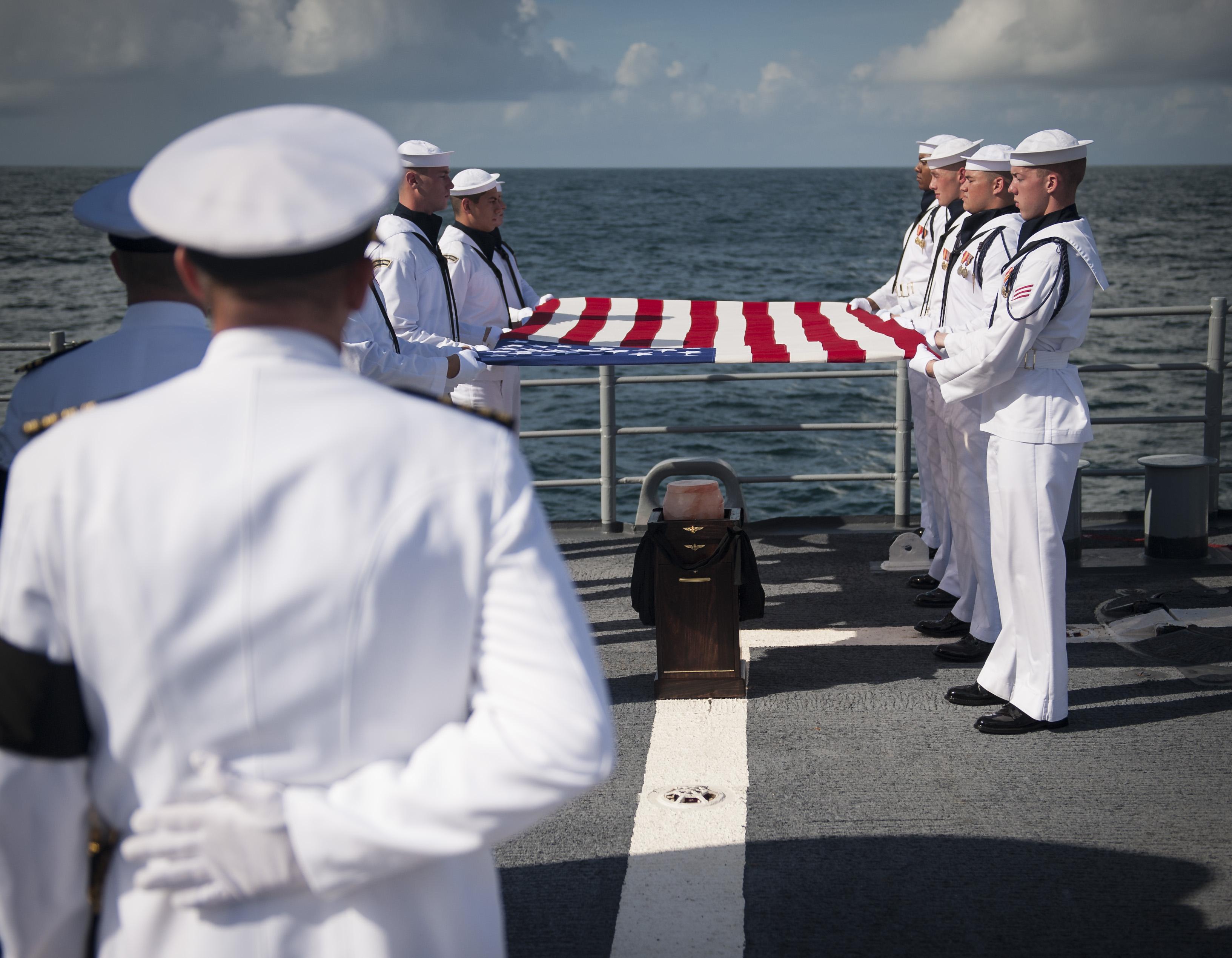 Armstrong Burial at Sea | NASA