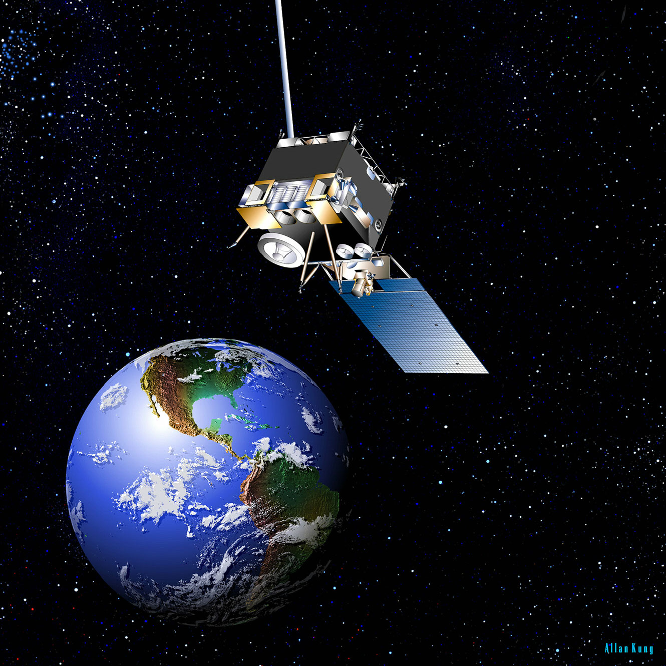NOAA's GOES-13 Weather Satellite Currently Has an Acting