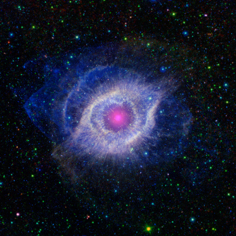 Helix Nebula Unraveling At The Seams Nasa