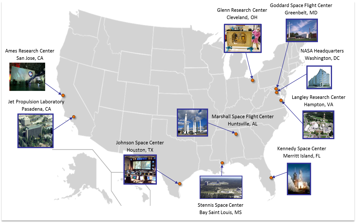 NASA Centers Supporting SCaN Activities | NASA