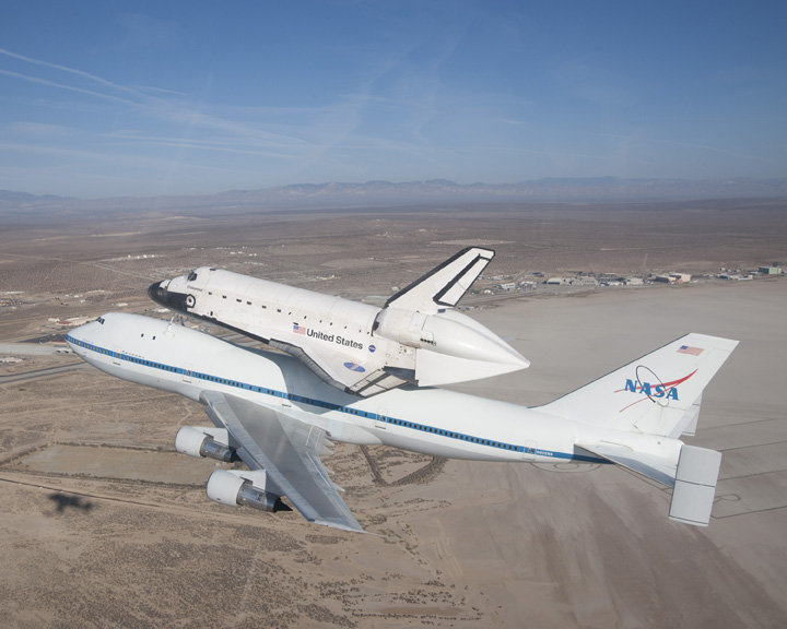 kelly afb space shuttle carrier aircraft - photo #25