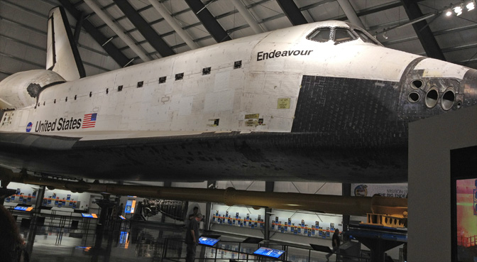 Shuttle Endeavour Exhibit Opens Tuesday at California ...