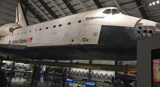 space shuttle endeavour california science center - photo #7