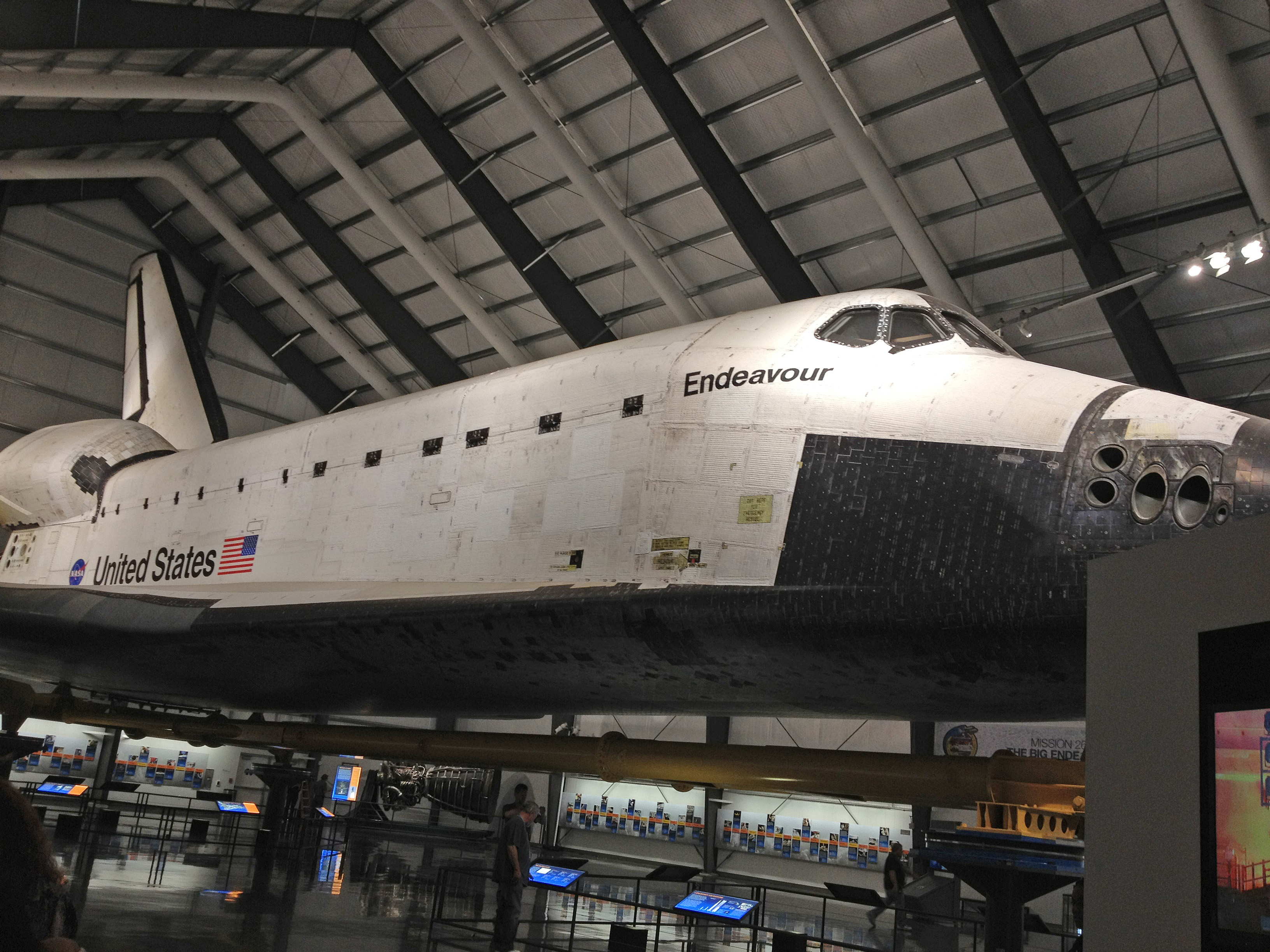endeavour space shuttle snelheid - photo #40