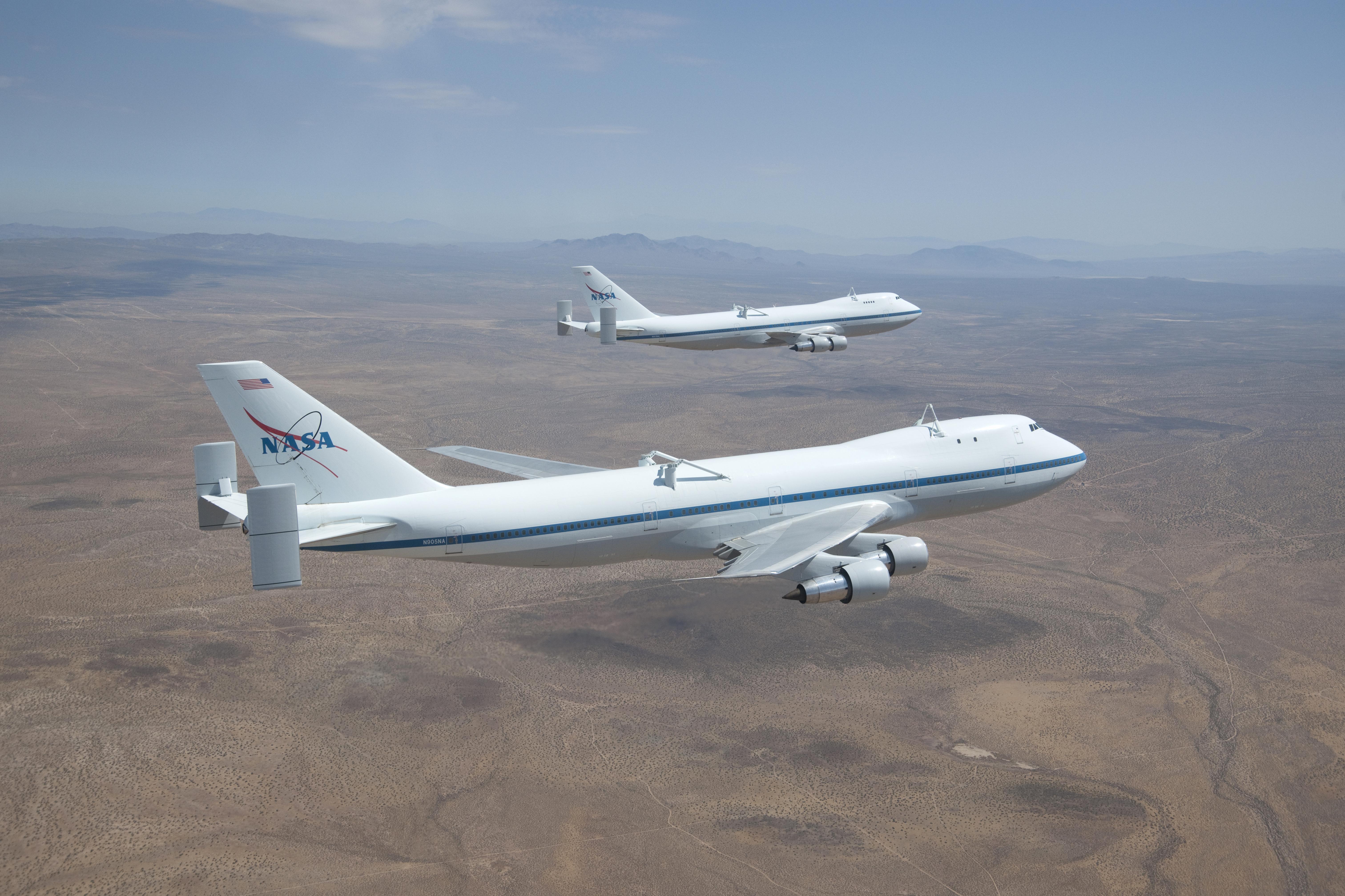 NASA's Original Shuttle Carrier Aircraft Departs Dryden   NASA