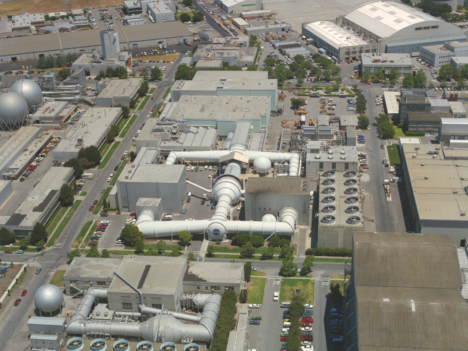 Aerial View of the Unitary Plan Wind Tunnel at NASA Ames ...