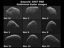Nine Views of Asteroid PA8