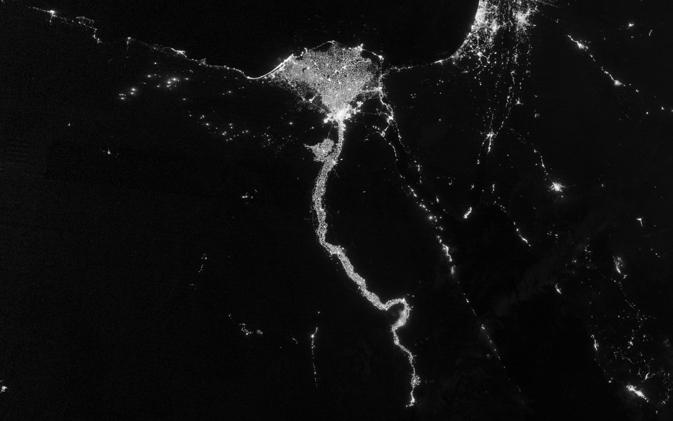 NASANOAA Satellite Reveals New Views Of Earth At Night NASA - Us night map