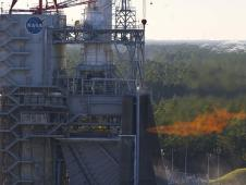 Dec. 13, 2012 J2X powerpack test at Stennis Space Center