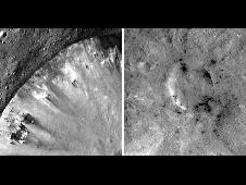 Mosaic images from NASA's Dawn mission