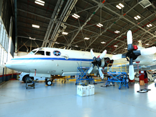 A P-3B turboprop from NASA's Wallops Flight Facility in Wallops Island, Va., will fly close to the ground to measure air pollution during the month-long DISCOVER-AQ mission in California's San Joaquin Valley.