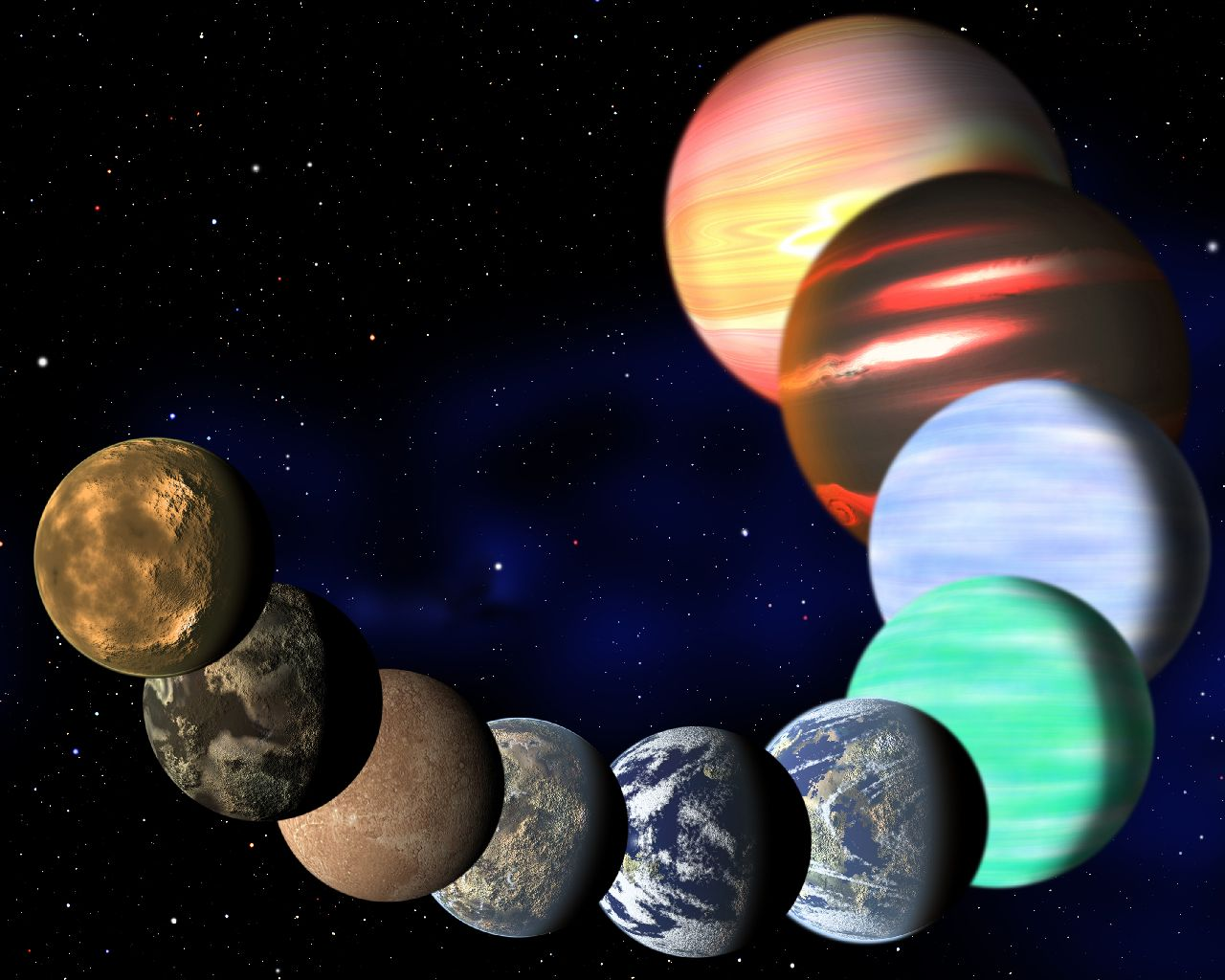 all types of planets - photo #13