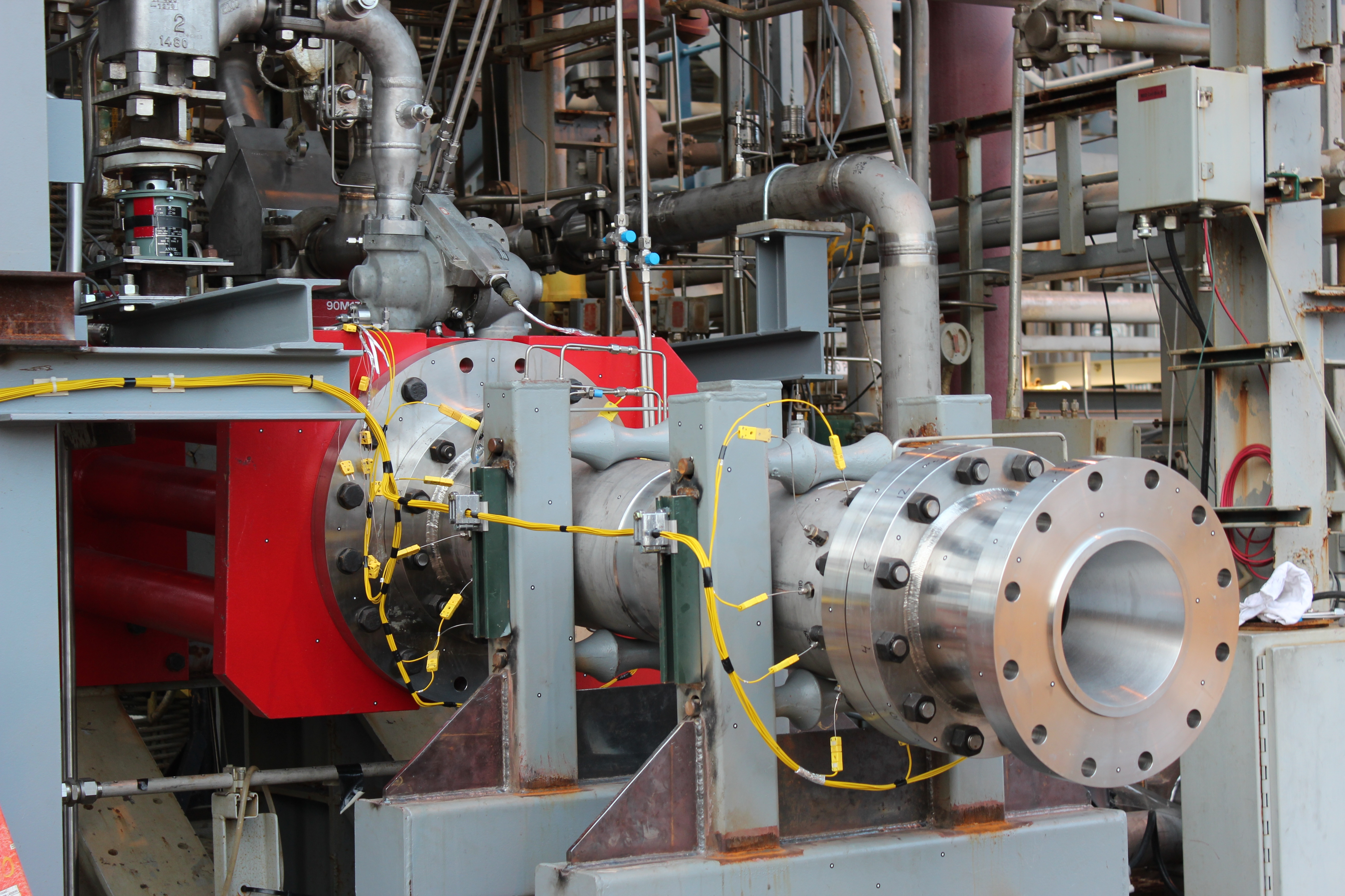F 1 Gas Generator At Marshalls Test Stand 116 NASA