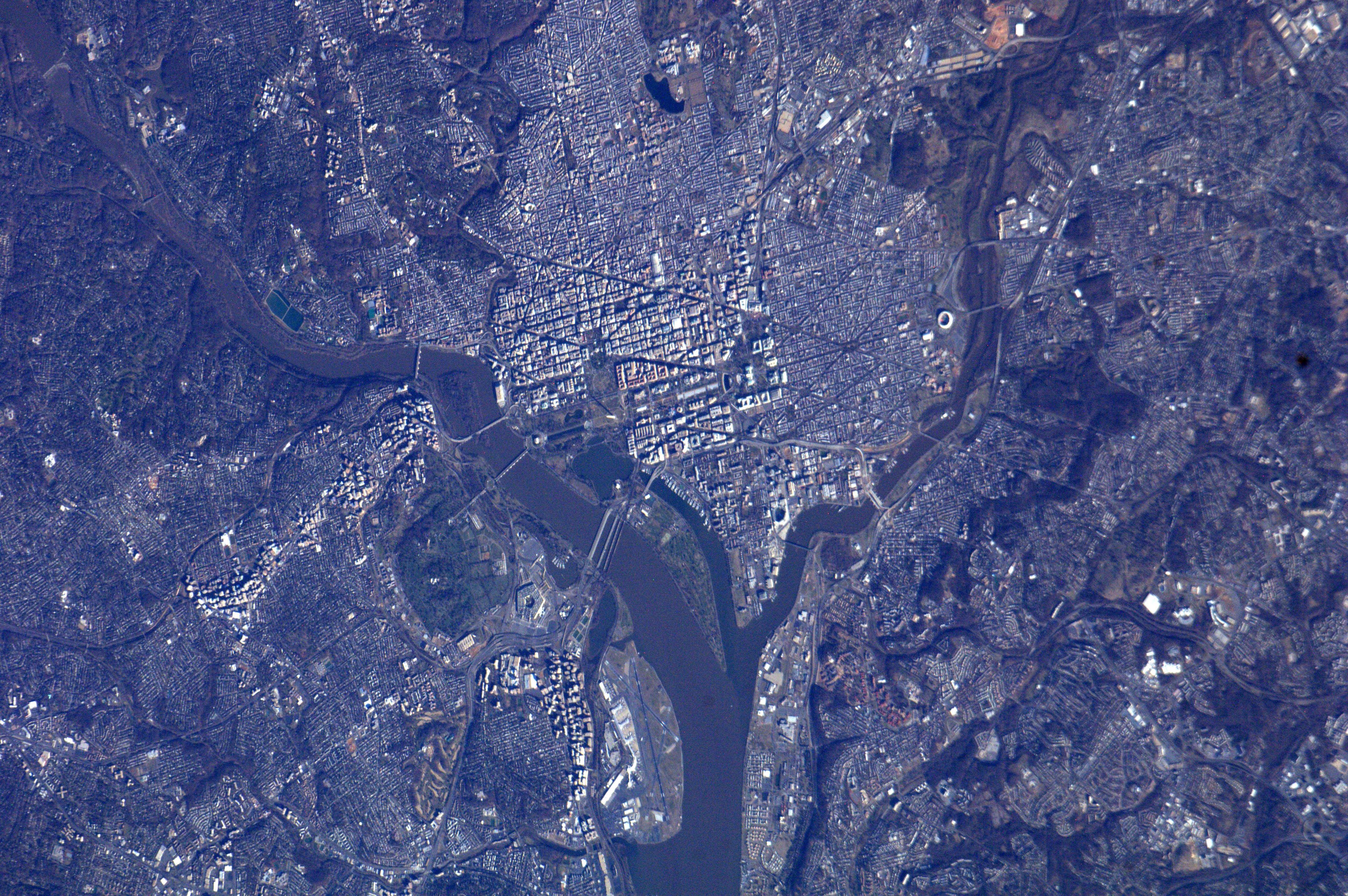 National Mall from Orbit | NASA