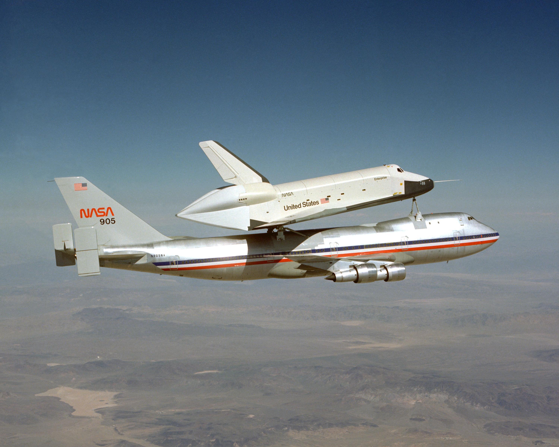 space shuttle enterprise landing - photo #22