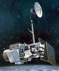 Artist's rendition of Landsat 5