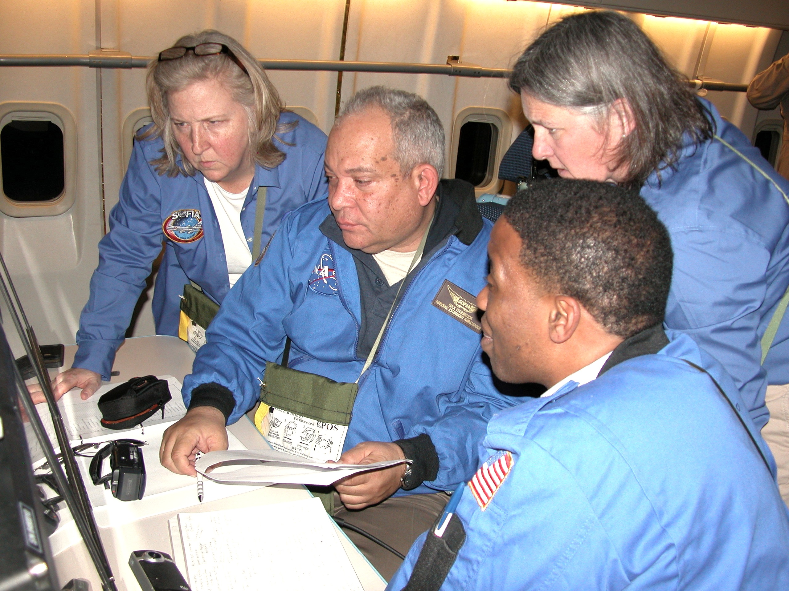 Educator Teams Fly on NASA's SOFIA Airborne Observatory | NASA