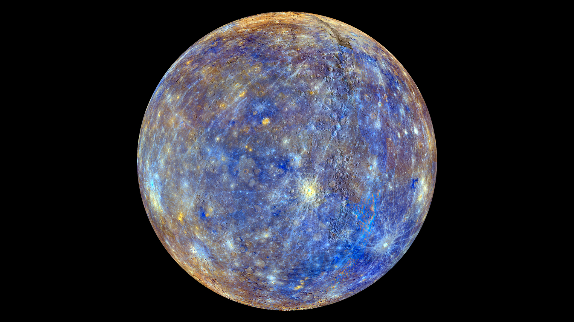 colors of the innermost planet mercury nasa