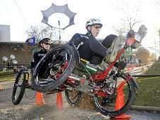 Students compete in the 2012 NASA Great Moonbuggy Race