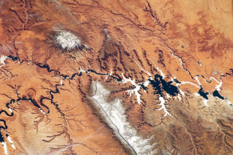An Astronauts View Of The Colorado Plateau NASA - Map of colorado plateau region