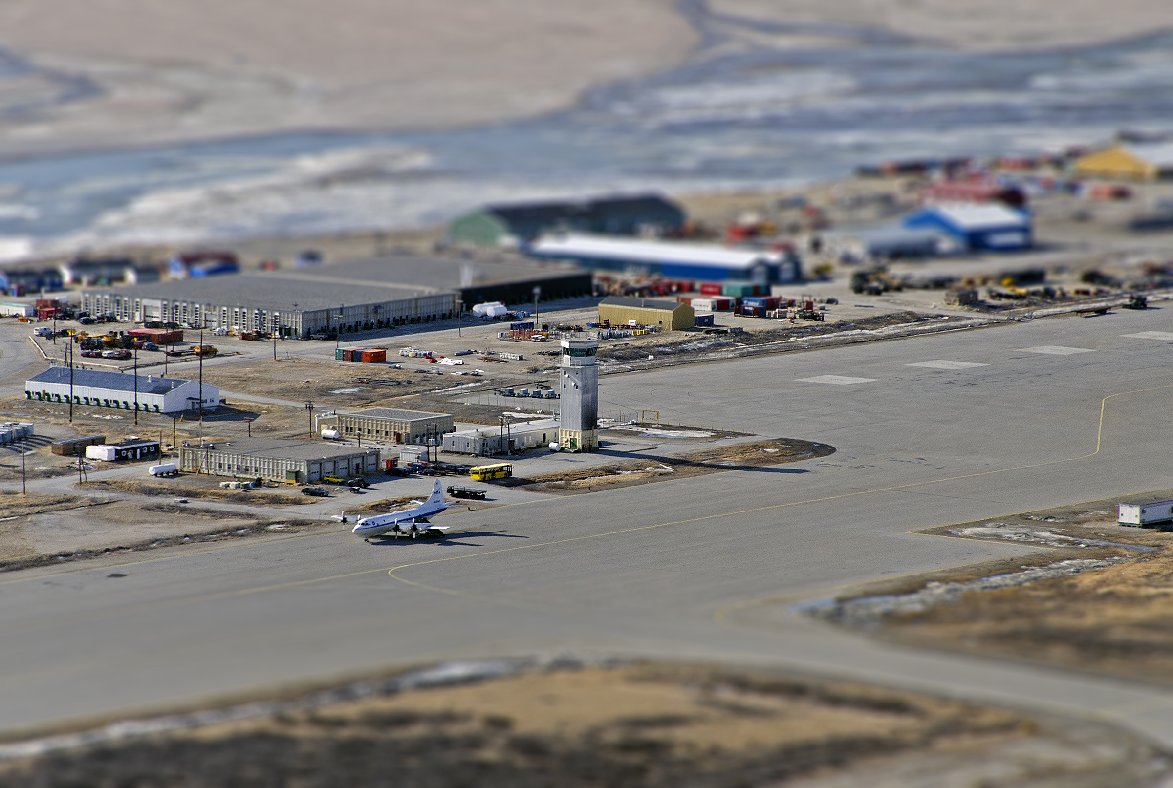 NASA's P-3B on Tarmac at Kangerlussuaq Airport | NASA: https://www.nasa.gov/mission_pages/icebridge/multimedia/spr13...