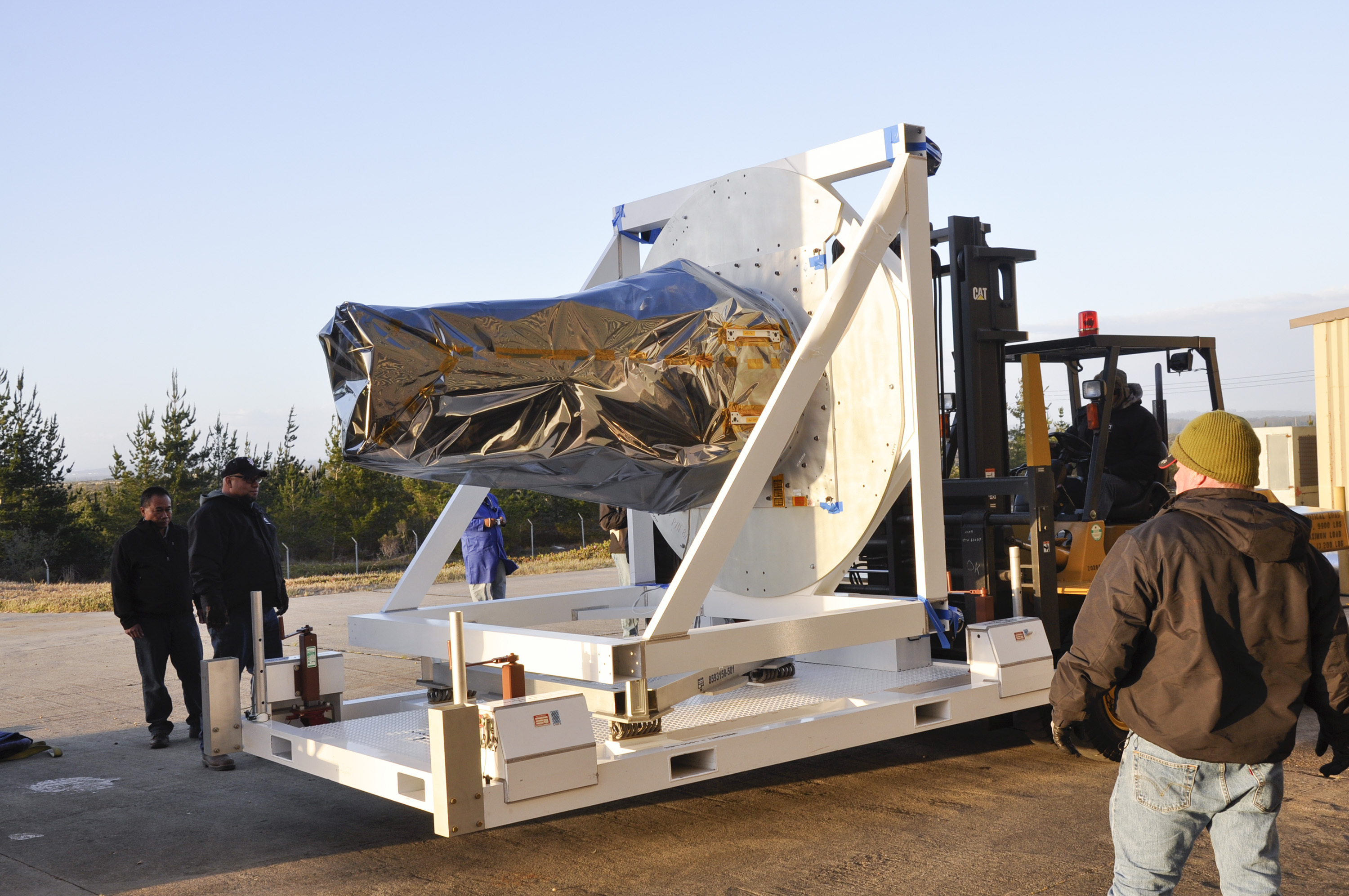 NASA's Newest Solar Satellite Arrives at Vandenberg AFB ...