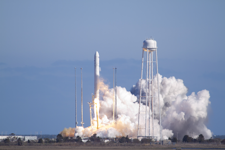 NASA Partner Orbital Sciences Test Launches Antares Rocket ...