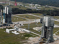 Launch Complex-17 as seen from air