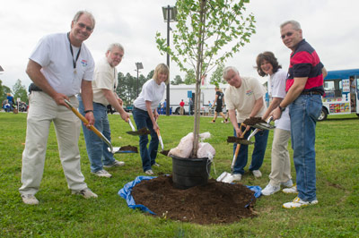 NASA'S Marshall Space Flight Center kicked off the 2013 Safety, Health and Environmental, or SHE, Day on May 1 with a tree-planting ceremony.