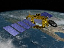 Artist's Concept of U.S.-European Jason-3 Ocean Altimetry Satellite