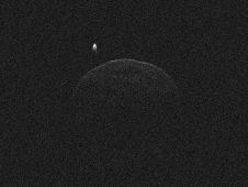 This image of asteroid 1998 QE2 was obtained on June 1, 2013