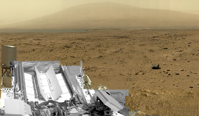 Billion-Pixel View of Mars Comes From Curiosity Rover