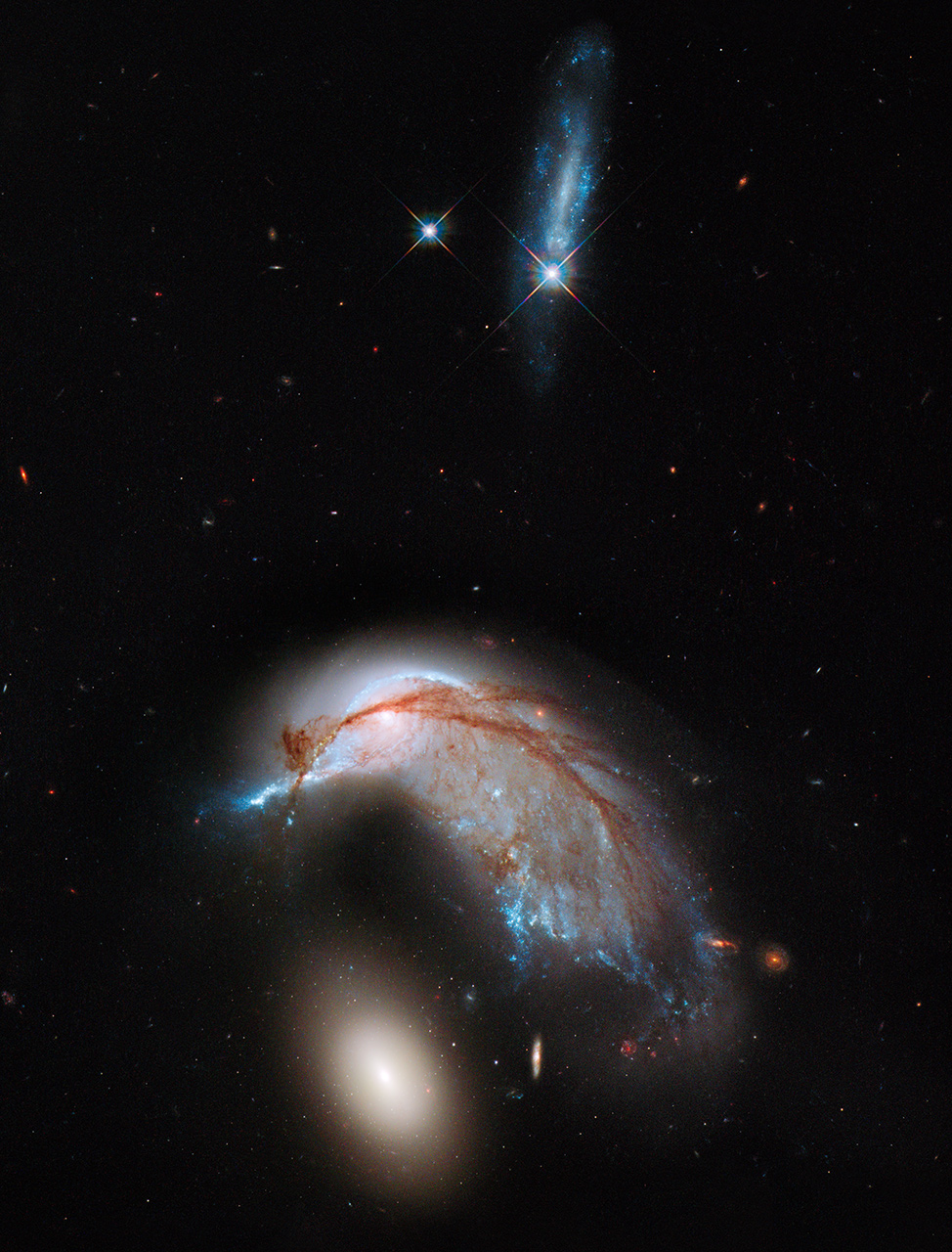 hubble galaxies pair - photo #12