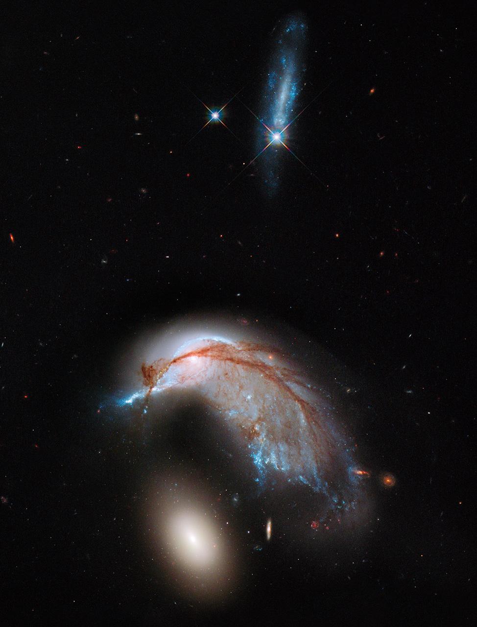 hubble telescope galaxies colliding - photo #9