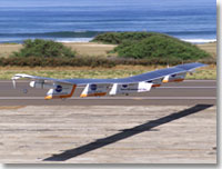 NASA's Helios Prototype electrically powered flying wing