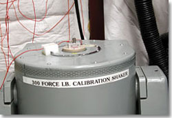 picture of calibration shaker
