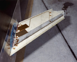 Image of aerostructure test wing research