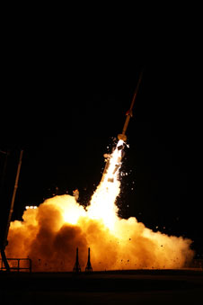 Sounding Rocket Launch from Wallops Island