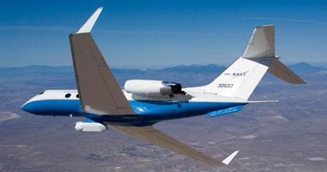 Gulfstream C-20A UAVSAR Science Aircraft | NASA