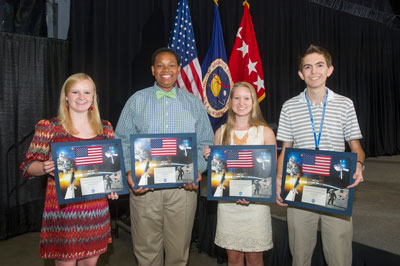 During its July 10 luncheon, the Marshall Association announced the recipients of its annual scholarships, presented to organization members' college-bound children for their outstanding scholastic achievement.