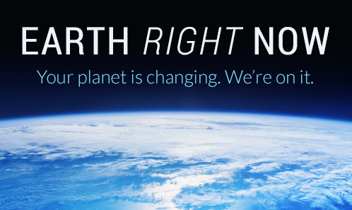 Earth Right Now graphic
