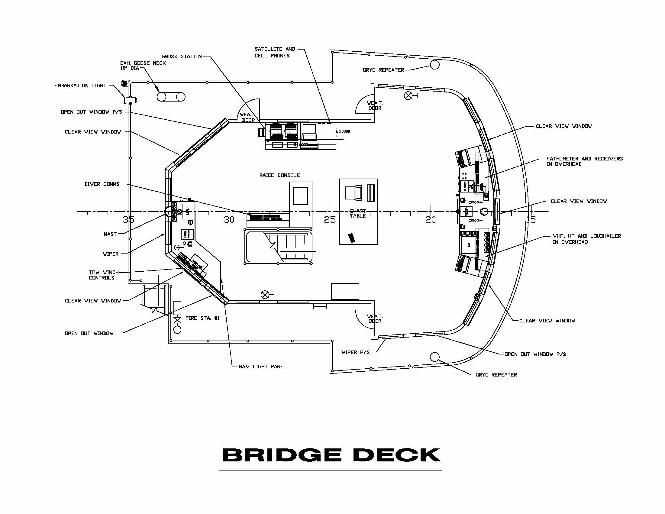 diagram of ship bridge electrical circuit digram