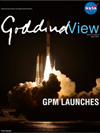 Goddard View cover - GPM Core Observatory launch